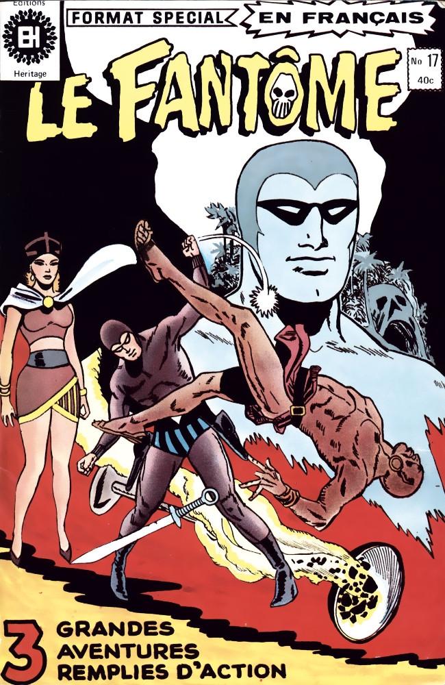 Couverture de Le fantôme (Éditions Héritage) -17- Qui a besoin d'ennemis?
