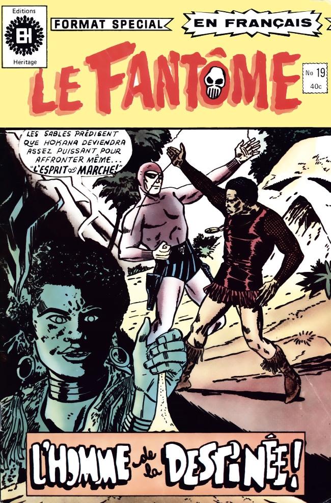 Couverture de Le fantôme (Éditions Héritage) -19- Le sauveur