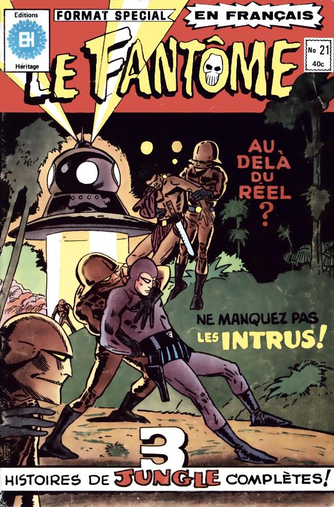 Couverture de Le fantôme (Éditions Héritage) -21- L'otage