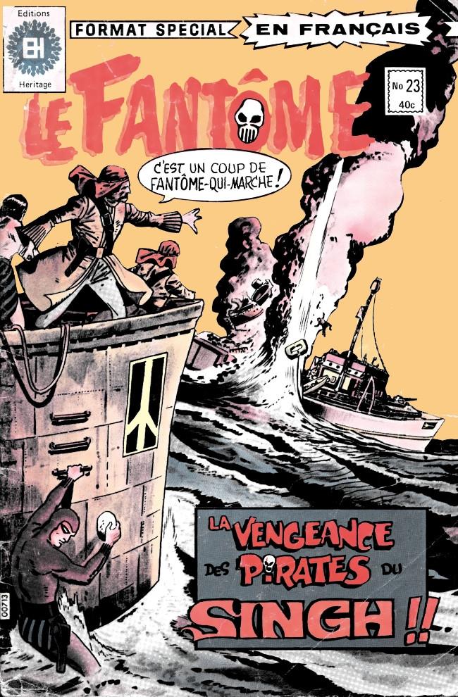 Couverture de Le fantôme (Éditions Héritage) -23- Le jardin perdu
