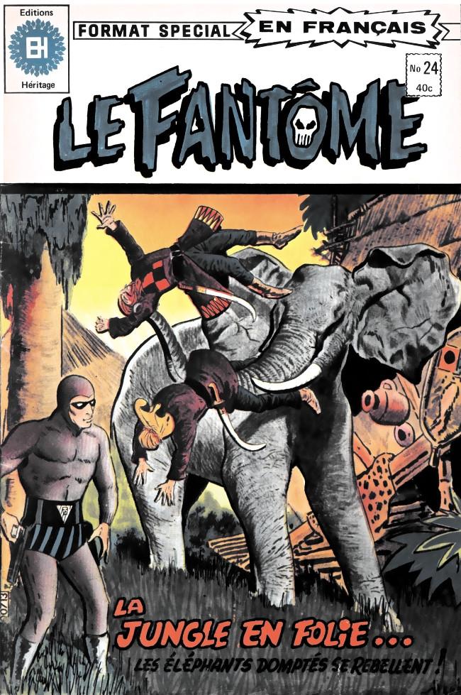 Couverture de Le fantôme (Éditions Héritage) -24- Les pilleurs