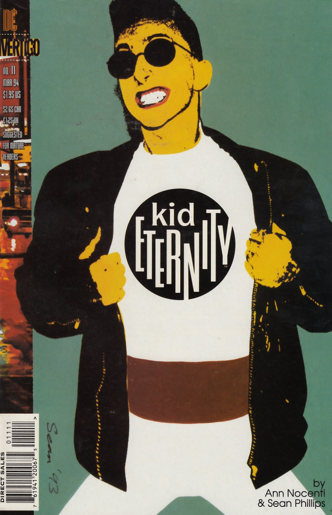 Couverture de Kid Eternity (1993) -11- Eat slap die