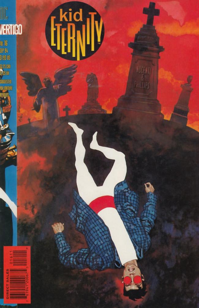Couverture de Kid Eternity (1993) -16- The zone