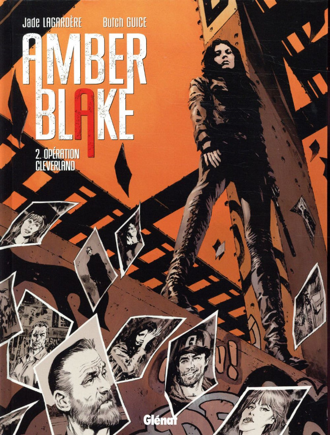 Couverture de Amber Blake -2- Opération Cleverland
