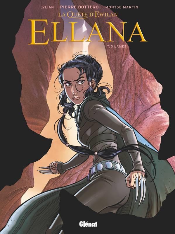 Couverture de Ellana -3- Lames