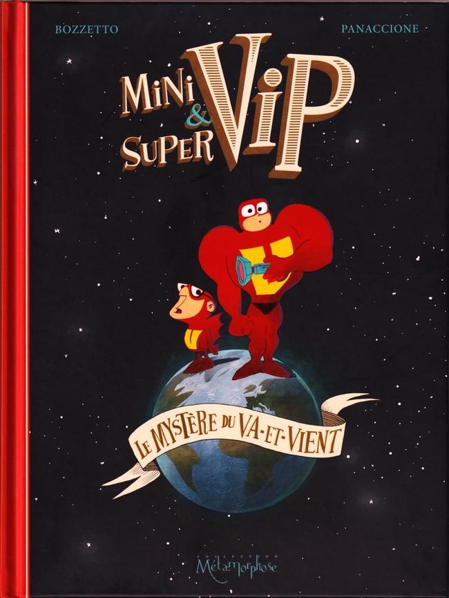 Couverture de Minivip & Supervip - Le Mystère du Va-et-Vient