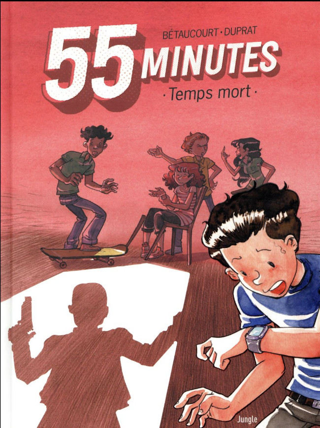 Couverture de 55 minutes - Temps mort