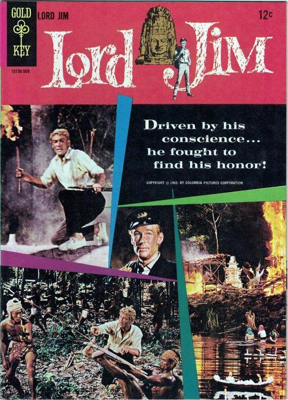 Couverture de Movie comics (Gold Key) -509- Lord Jim