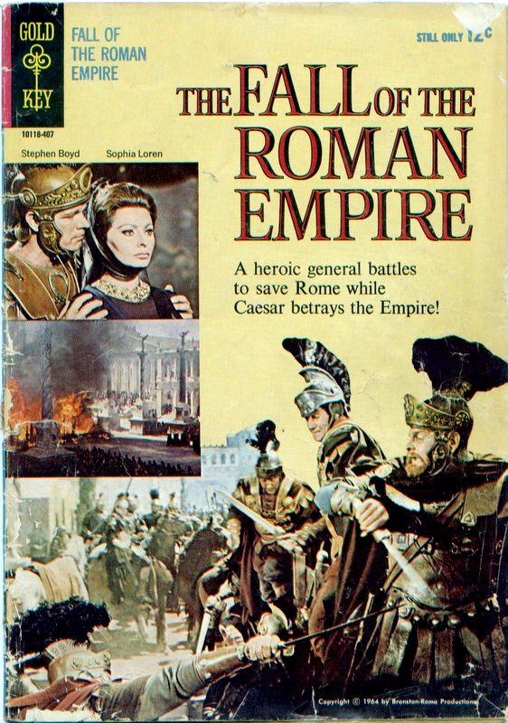 Couverture de Movie comics (Gold Key) -407- The Fall of the Roman Empire