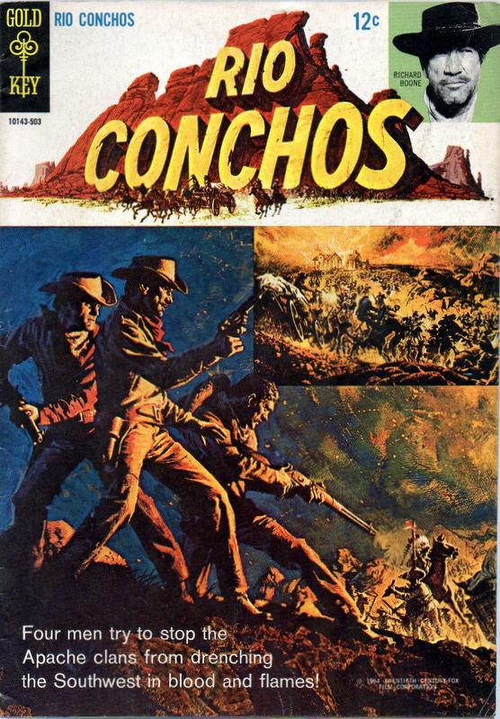 Couverture de Movie comics (Gold Key) -503- Rio Conchos