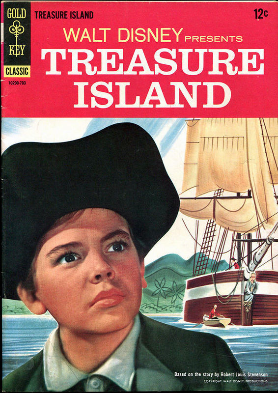 Couverture de Movie comics (Gold Key) -703- Treasure Island