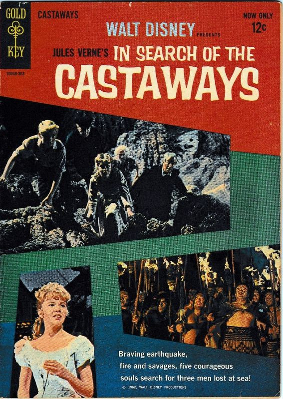 Couverture de Movie comics (Gold Key) -303- In Search of the Castaways