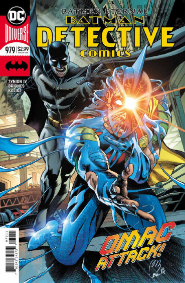 Couverture de Detective Comics (1937), Période Rebirth (2016) -979- Batmen Eternal - Part 4