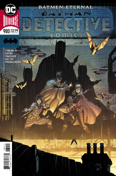 Couverture de Detective Comics (1937) -980- batmen Eternal - Part 5