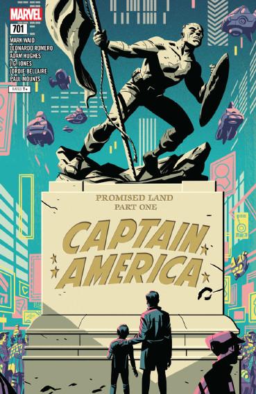 Couverture de Captain America (Marvel comics - 1968) -701- Promised land - Part one
