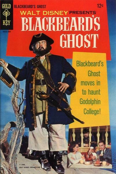 Couverture de Movie comics (Gold Key) -806- Blackbeard's Ghost
