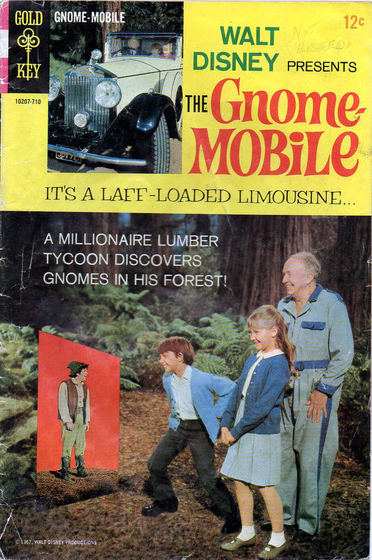 Couverture de Movie comics (Gold Key) -710- The Gnome-Mobile