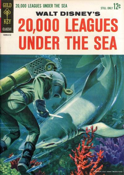 Couverture de Movie comics (Gold Key) -312- 20,000 Leagues Under The Sea