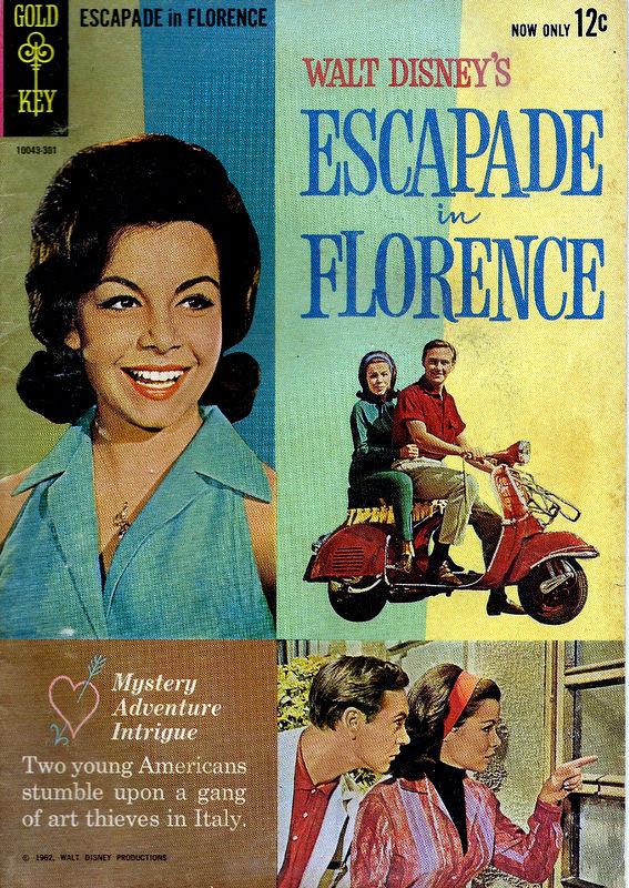 Couverture de Movie comics (Gold Key) -301- Escapade in Florence