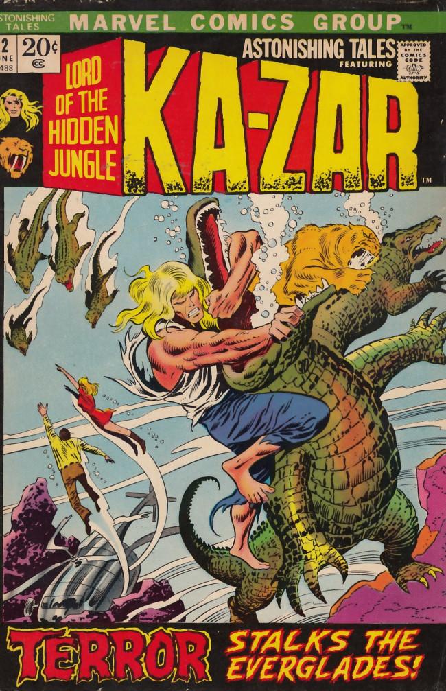 Couverture de Astonishing tales Vol.1 (Marvel - 1970) -12- Terror stalks the everglades