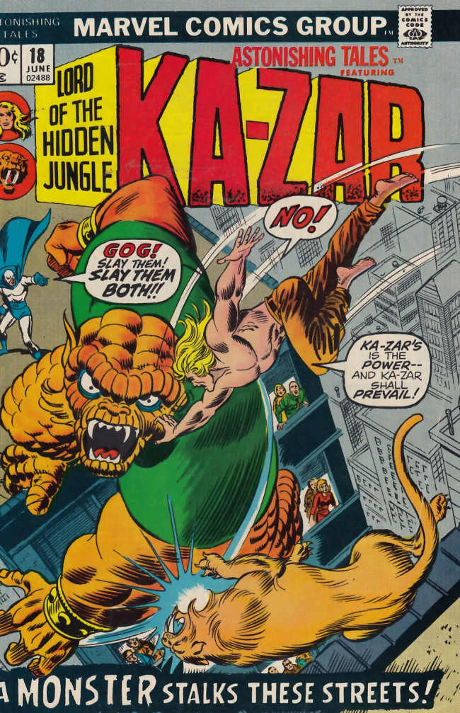 Couverture de Astonishing tales Vol.1 (Marvel - 1970) -18- Gog cometh!
