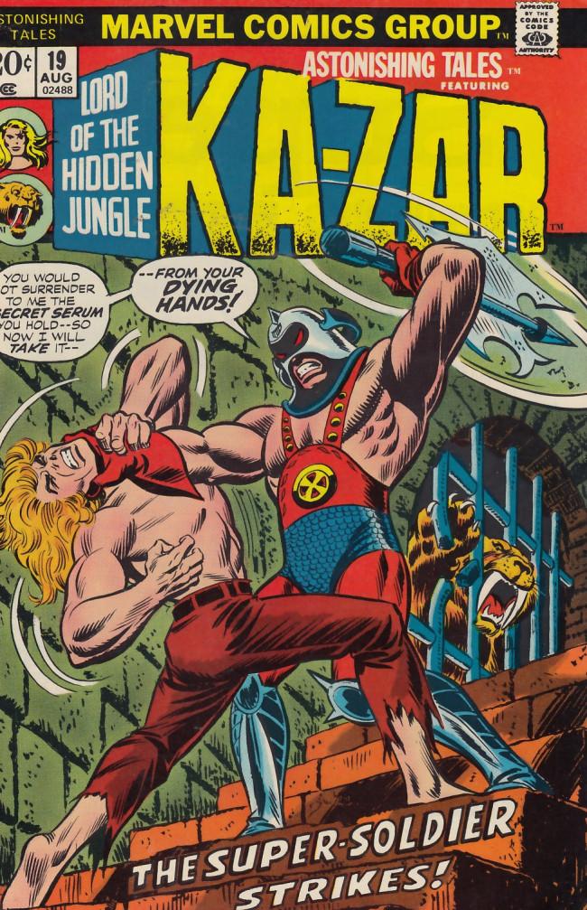 Couverture de Astonishing tales Vol.1 (Marvel - 1970) -19- Victorius!