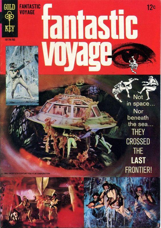 Couverture de Movie comics (Gold Key) -702- Fantastic Voyage
