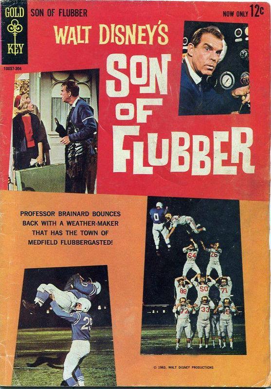 Couverture de Movie comics (Gold Key) -304- Son of Flubber
