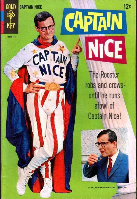 Couverture de Movie comics (Gold Key) -711- Captain Nice