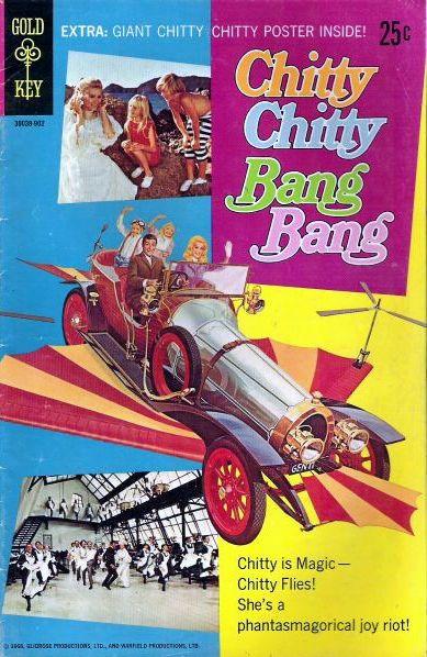 Couverture de Movie comics (Gold Key) -902- Chitty Chitty Bang Bang