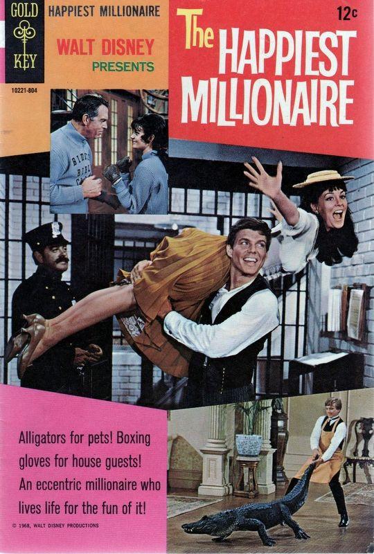 Couverture de Movie comics (Gold Key) -804- The Happiest Millionaire