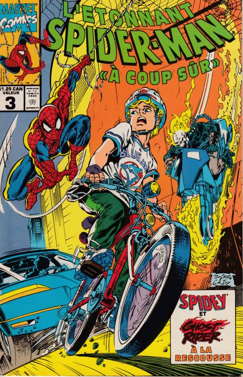 Couverture de L'Étonnant Spider-Man (1990) -3- A coup sûr !