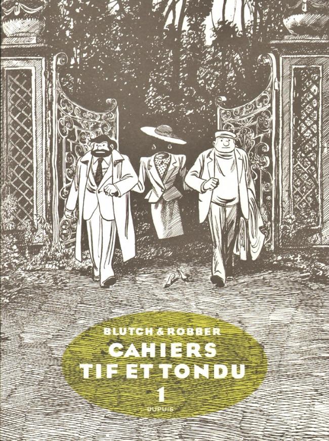 Couverture de Tif et Tondu -Cah01- Cahiers Tif et Tondu 1