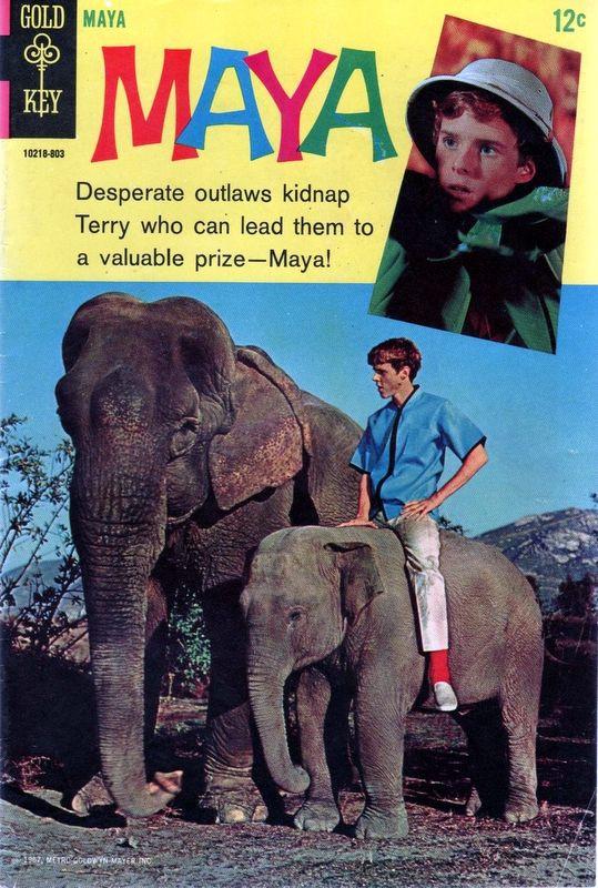 Couverture de Movie comics (Gold Key) -803- Maya