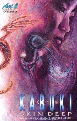 Couverture de Kabuki: Skin deep (1996) -2'- Kabuki: Skin deep #2