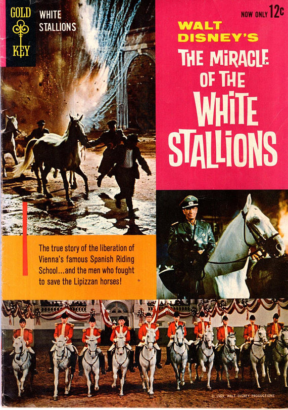 Couverture de Movie comics (Gold Key) -306- The Miracle Of The White Stallions