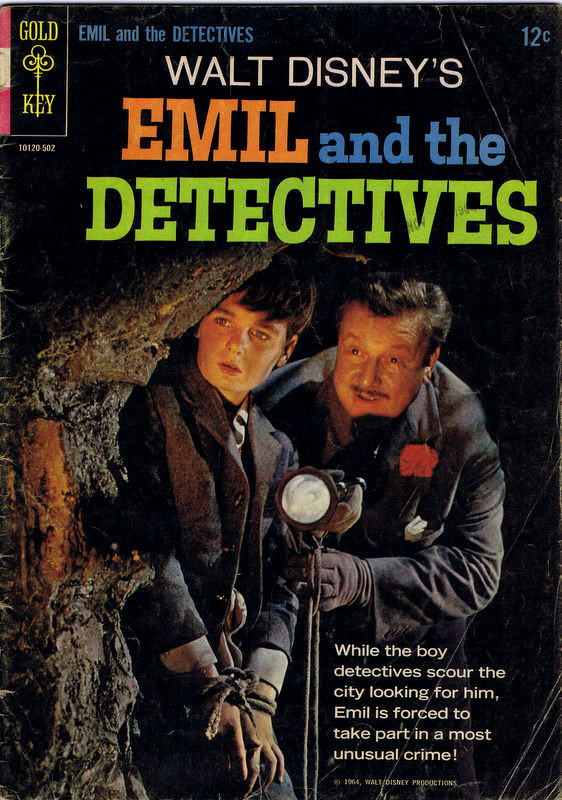 Couverture de Movie comics (Gold Key) -502- Emil and the Detectives