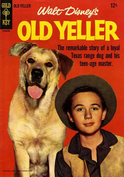 Couverture de Movie comics (Gold Key) -601- Old Yeller