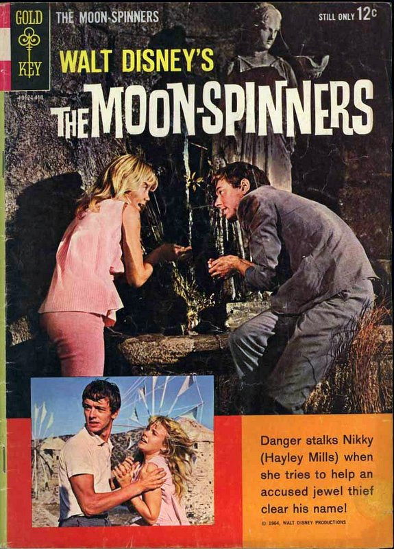 Couverture de Movie comics (Gold Key) -410- The Moon-Spinners