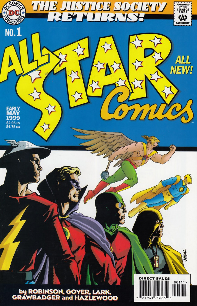 Couverture de All Star Comics (1999) -1- Time Keeper