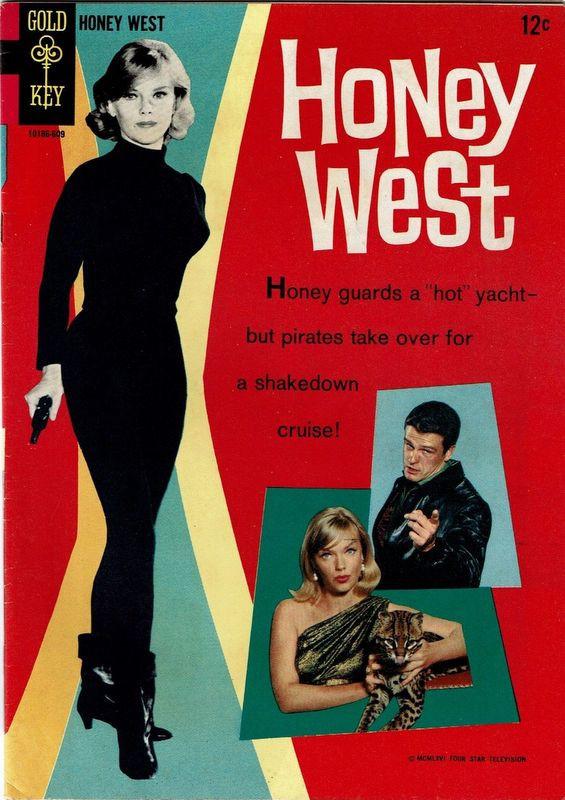 Couverture de Movie comics (Gold Key) -609- Honey West