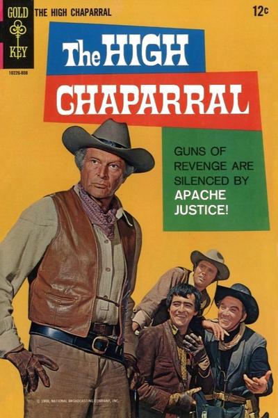 Couverture de Movie comics (Gold Key) -808- The High Chaparral: Apache Justice!