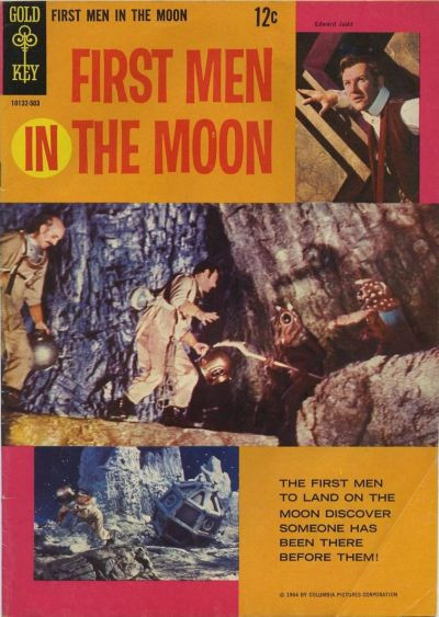 Couverture de Movie comics (Gold Key) -503- First Men in the Moon