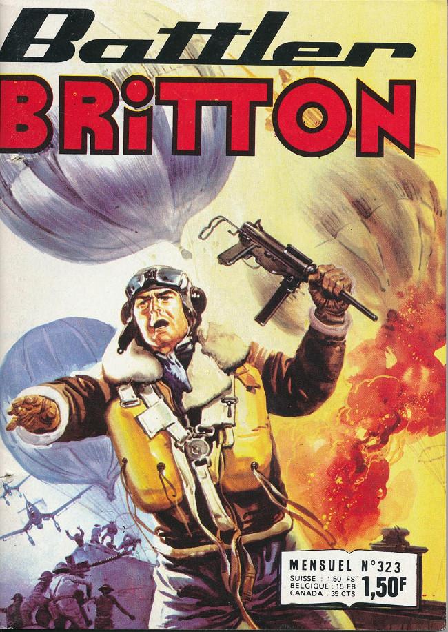 Couverture de Battler Britton -323- Dans la fureur du combat