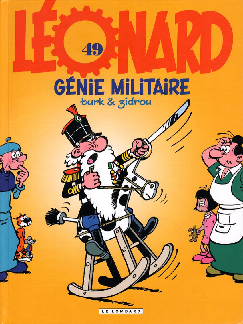 Couverture de Léonard -49- Génie militaire