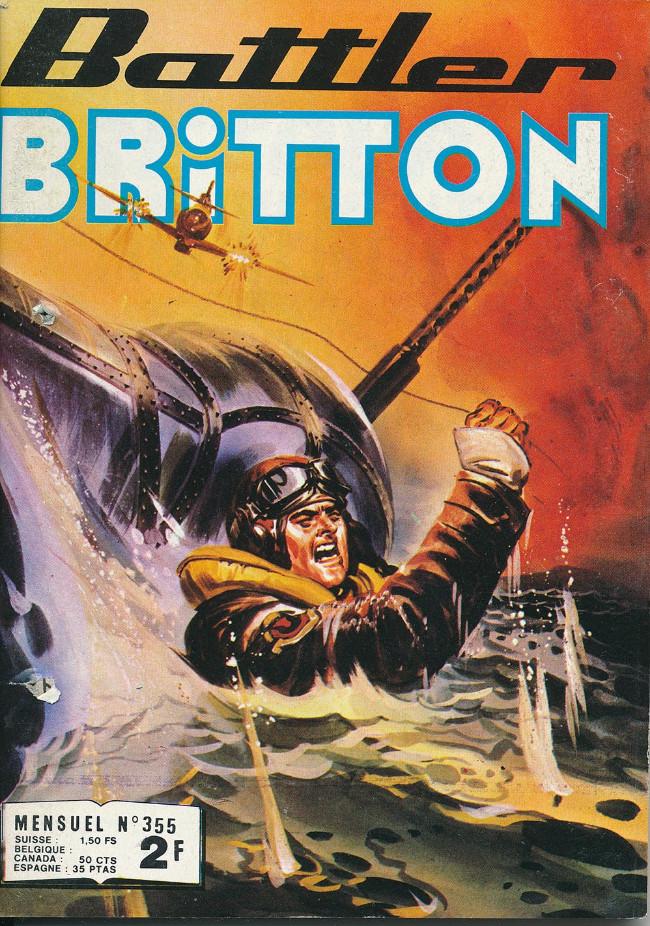 Couverture de Battler Britton -355- Retour mouvementé