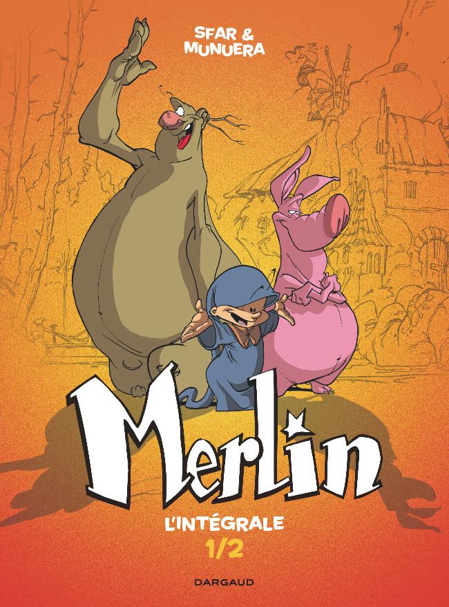 Couverture de Merlin (Munuera) -INT01- Intégrale 1/2