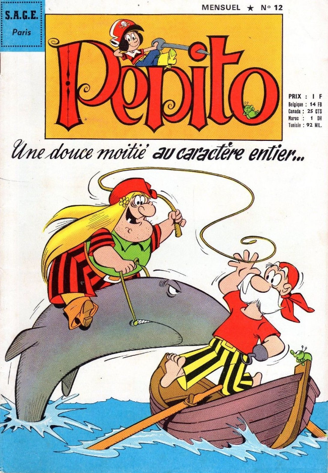 Couverture de Pepito (3e Série - SAGE) (Numéro Géant) -12- Une douce moitié au caractère entier...