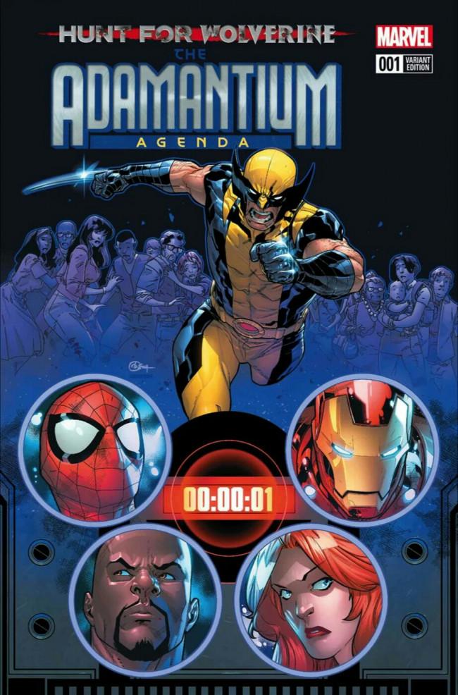 Couverture de Hunt for Wolverine - Adamantium Agenda -1B- Issue #1