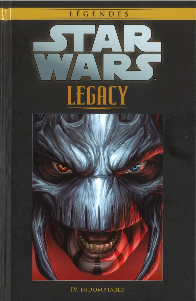 Couverture de Star Wars - Légendes - La Collection (Hachette) -6688- Star Wars Legacy - IV. Indomptable